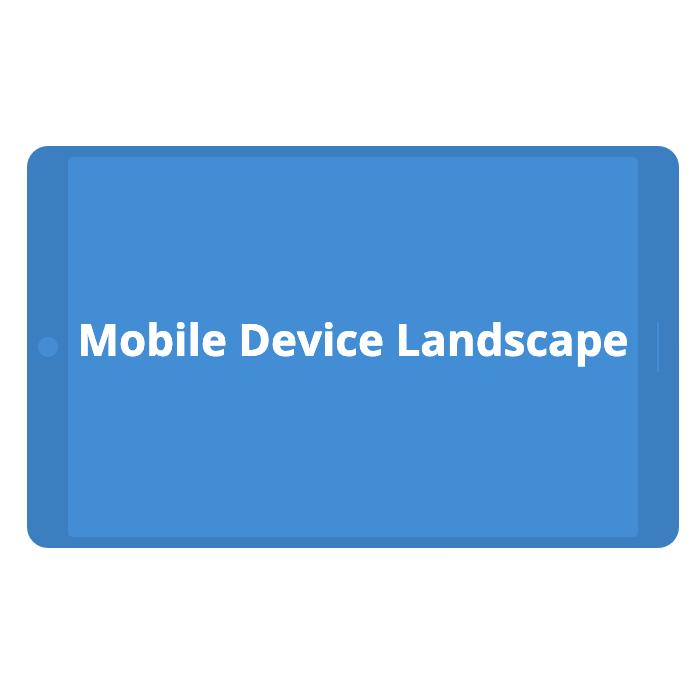 Mobile Device - Landscape