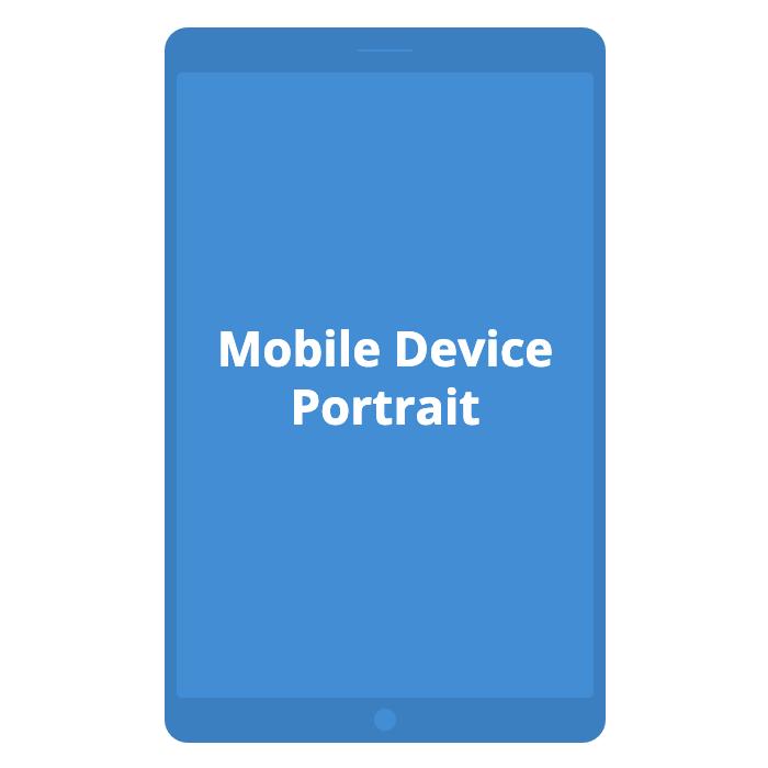 Mobile Device - Portrait