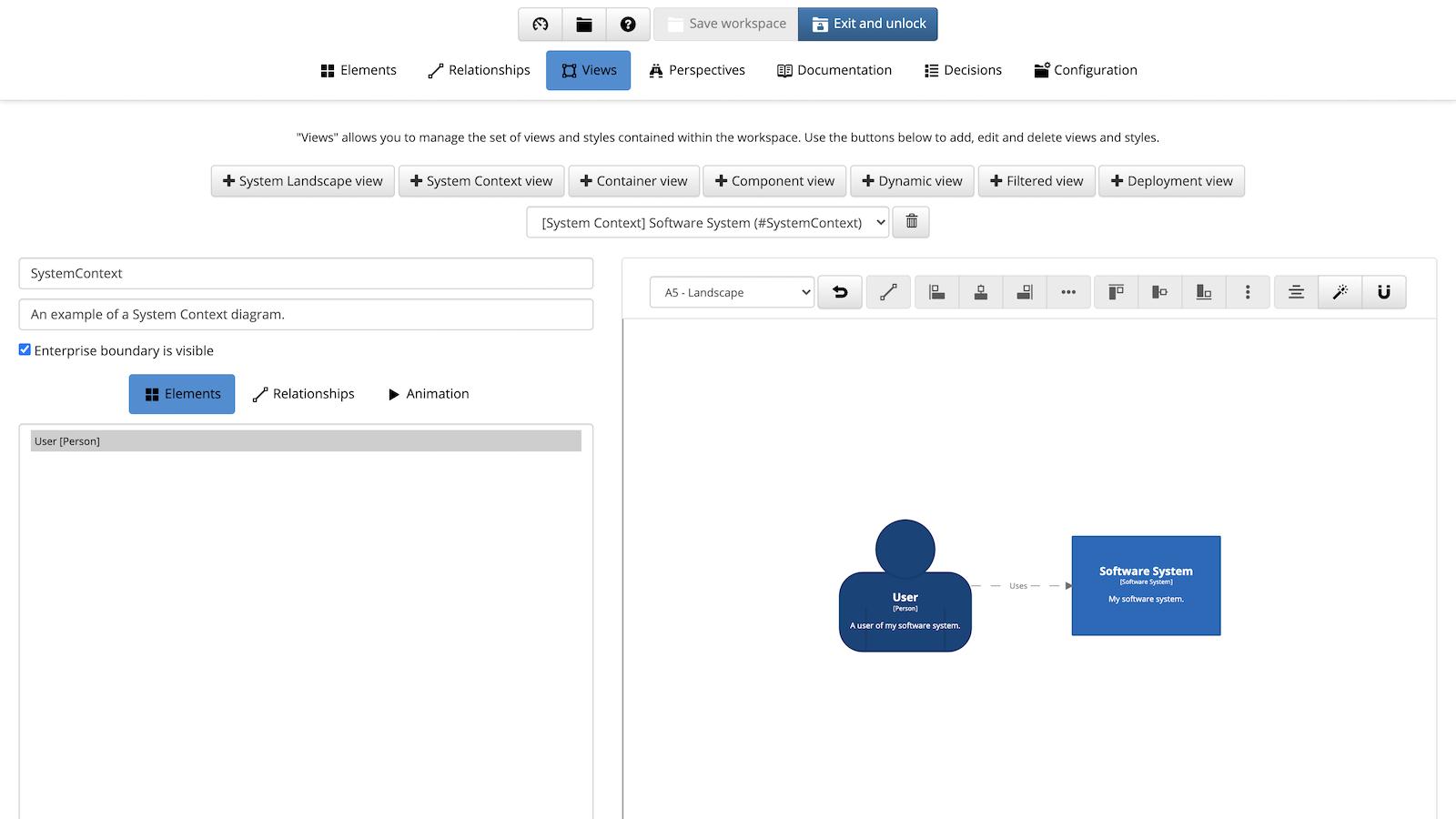 Create content using the UI